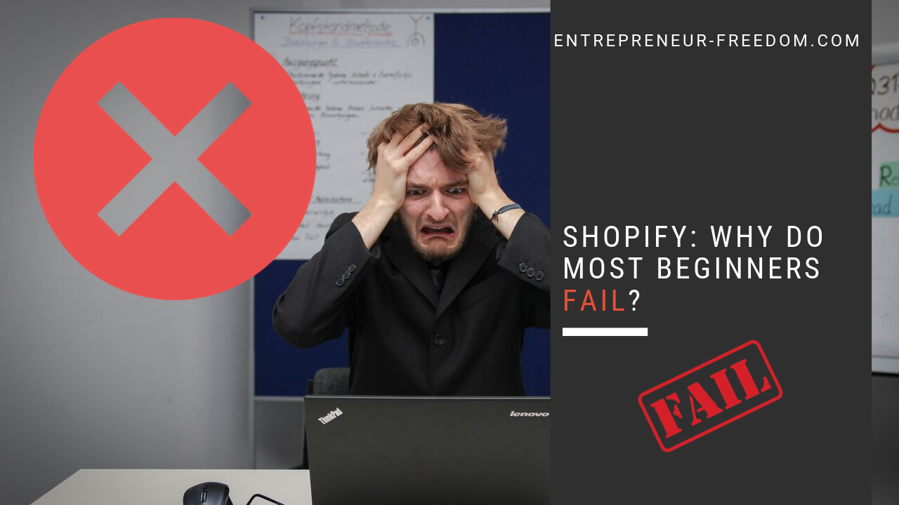 Shopify Why do most beginners fail