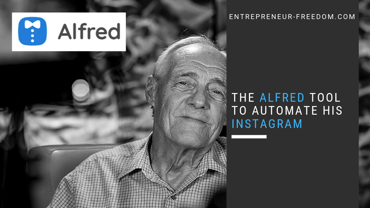 The Alfred tool to Automate his Instagram