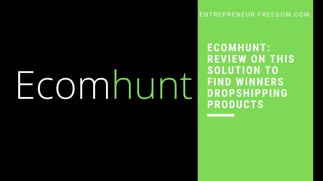 Ecomhunt_ review on this solution to find winners dropshipping products