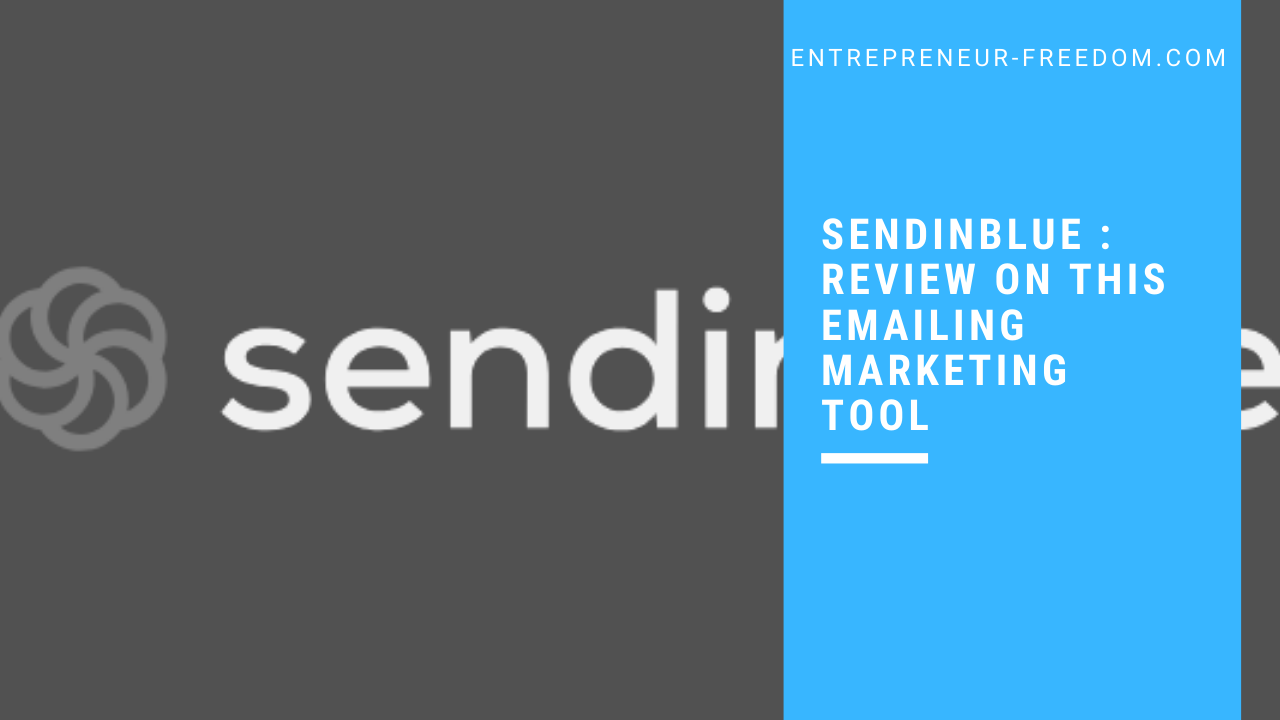 Sendinblue _ review on this emailing marketing tool