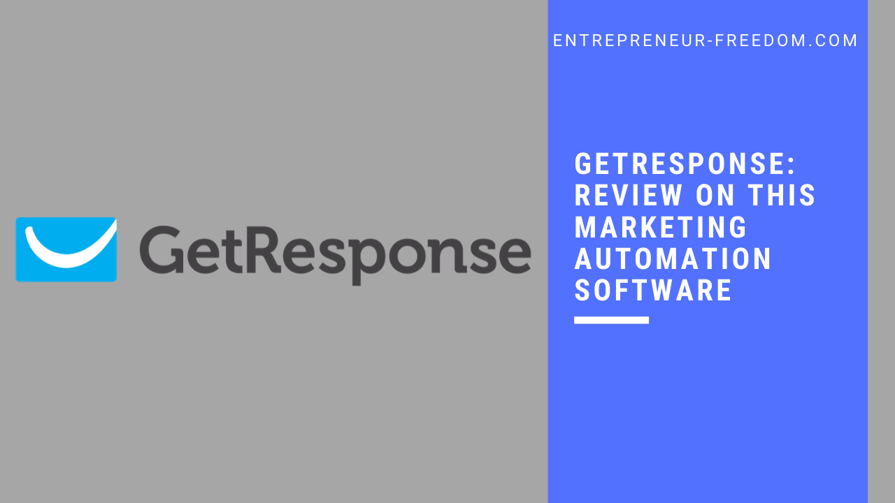 GetResponse: review on this marketing automation software