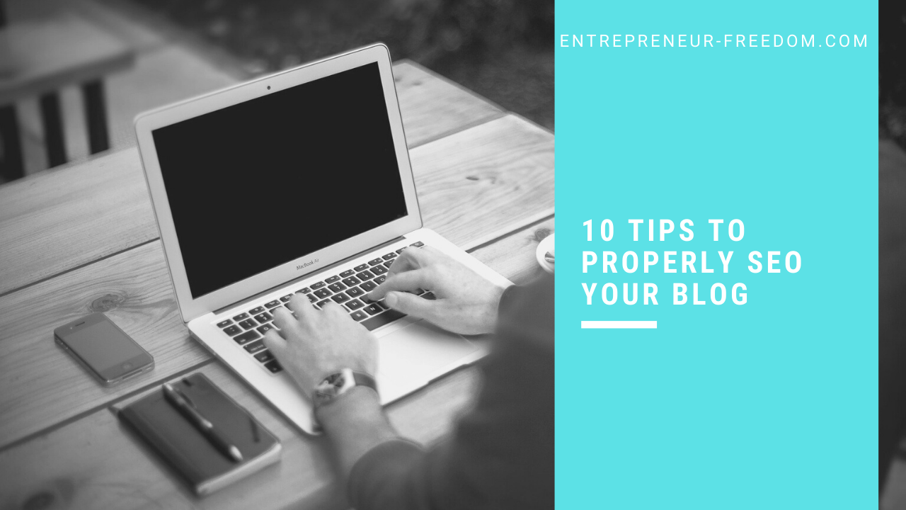 10 tips to properly seo your blog