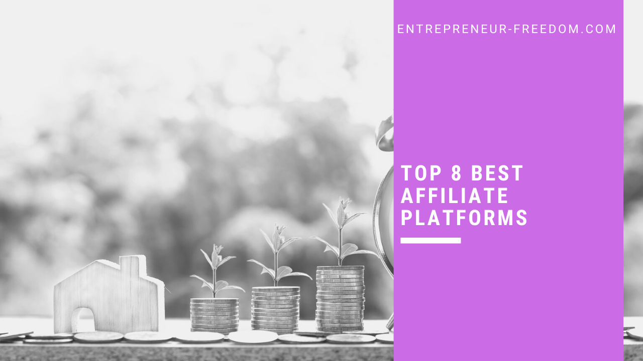 TOP 8 best affiliate platforms